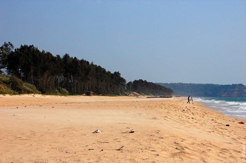 Сагарешвар - Венгурла (Sagareshwar beach in Vengurla) Гоа
